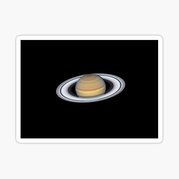 Planet, Saturn Rings Sticker