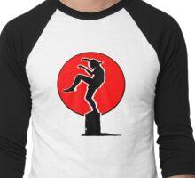 Karate Kid Crane Kick Men's Baseball ¾ T-Shirt