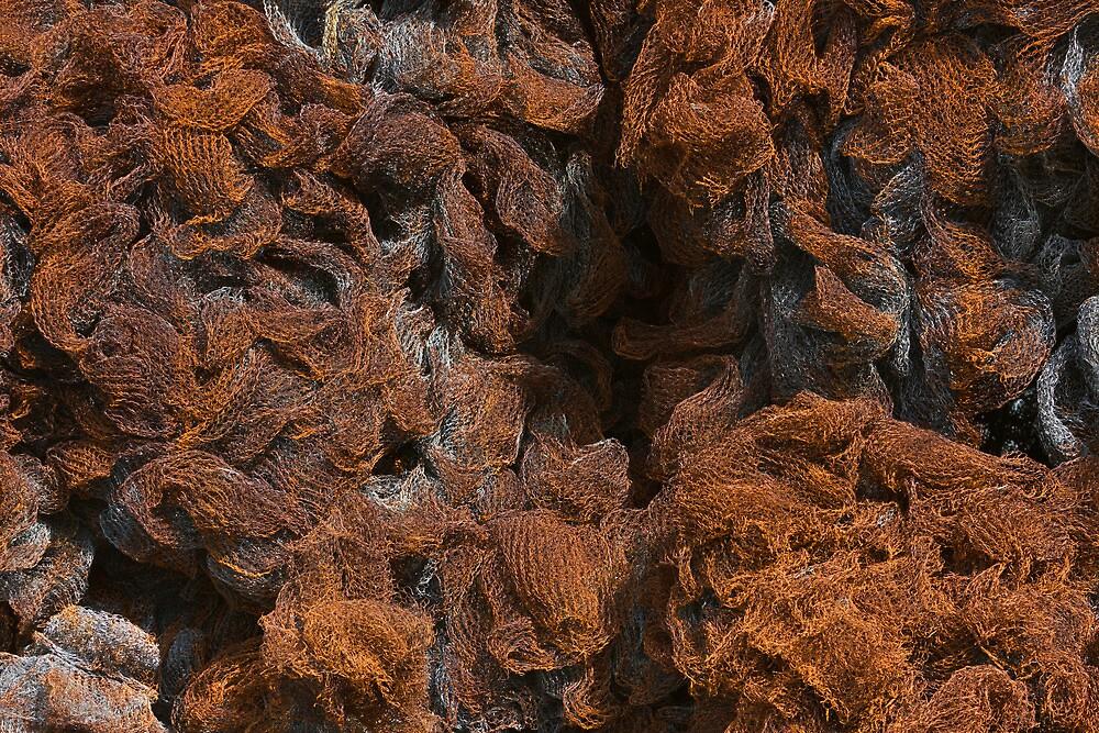 Rusty Metal Net Texture by kirilart