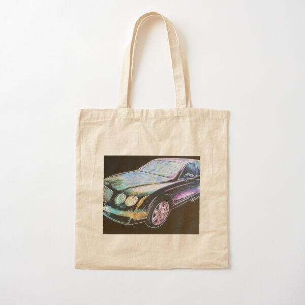 Beautiful Bentley Cotton Tote Bag