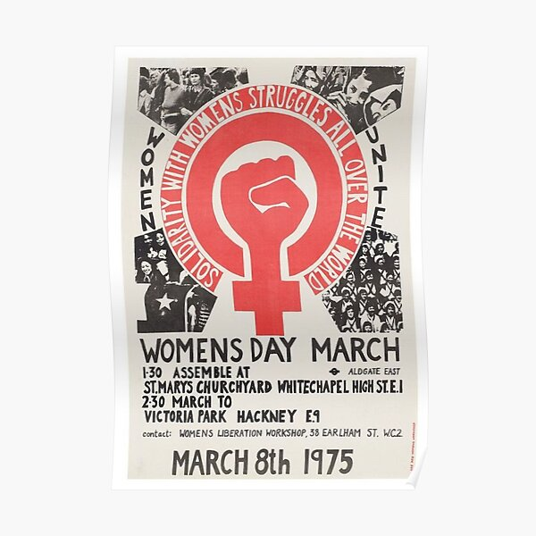 Womens day march Poster