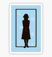 Lonely Sticker