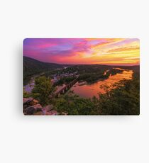 Historic View - Harpers Ferry, WV Canvas Print