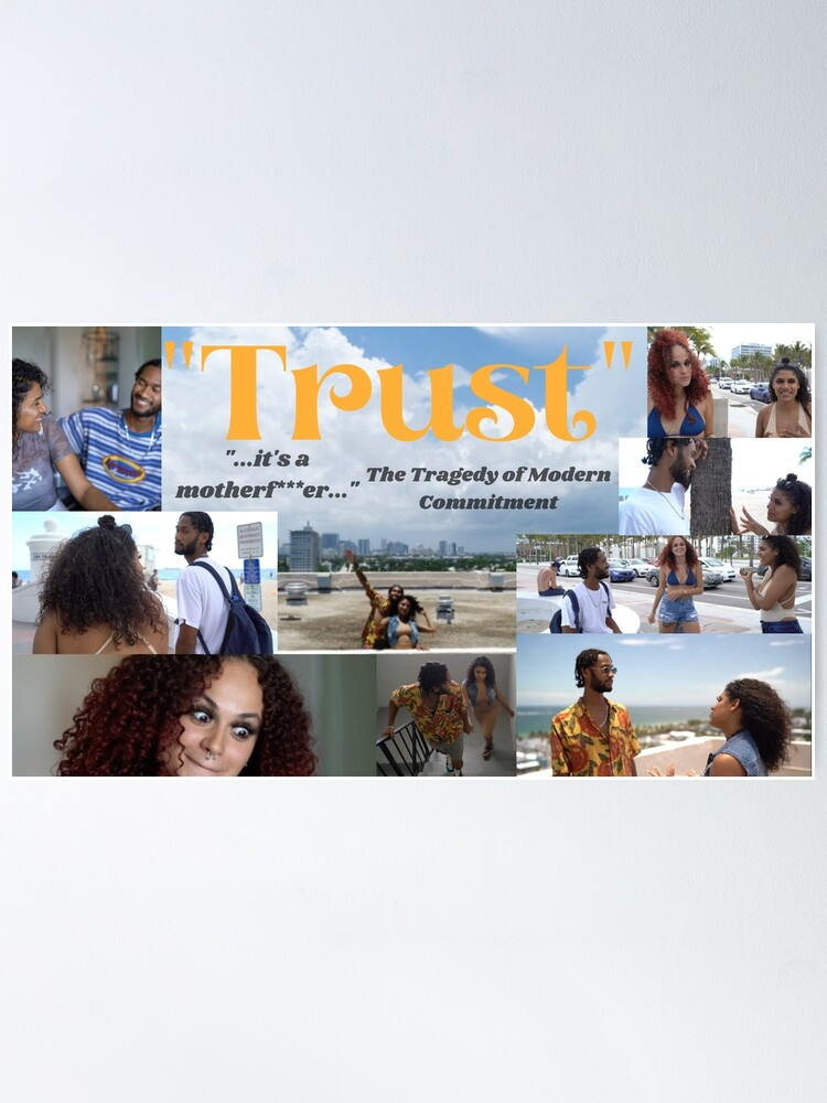 """Alternate view of """"Trust"""" Movie Poster Poster"""