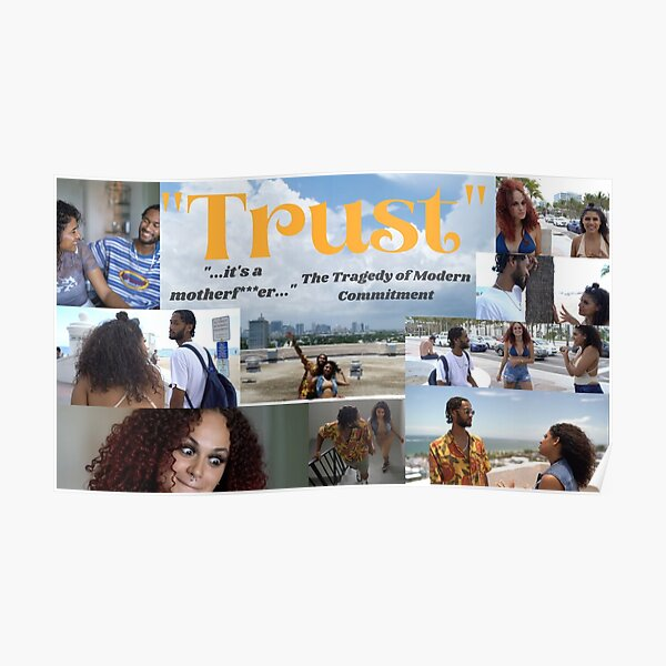 """""""Trust"""" Movie Poster Poster"""