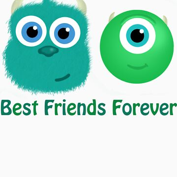 Best Friends, Mike and Sully by Kris10Kraft