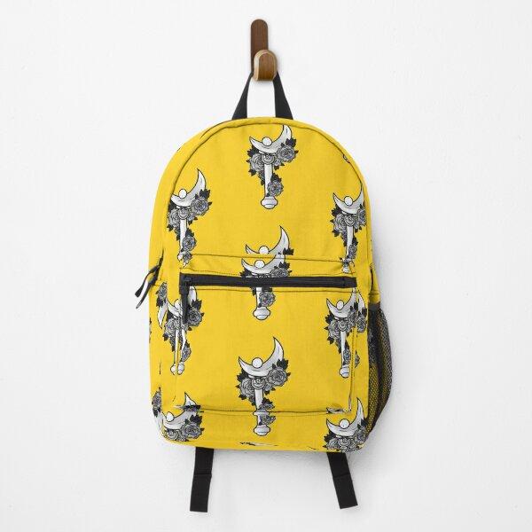 moon stick (black & grey) Backpack