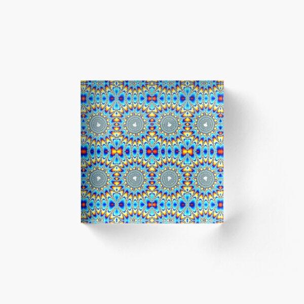 Pattern, Circle Acrylic Block