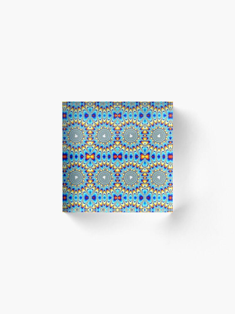 Alternate view of Pattern, Circle Acrylic Block