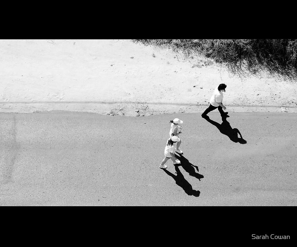 Shadow walk by Sarah Cowan