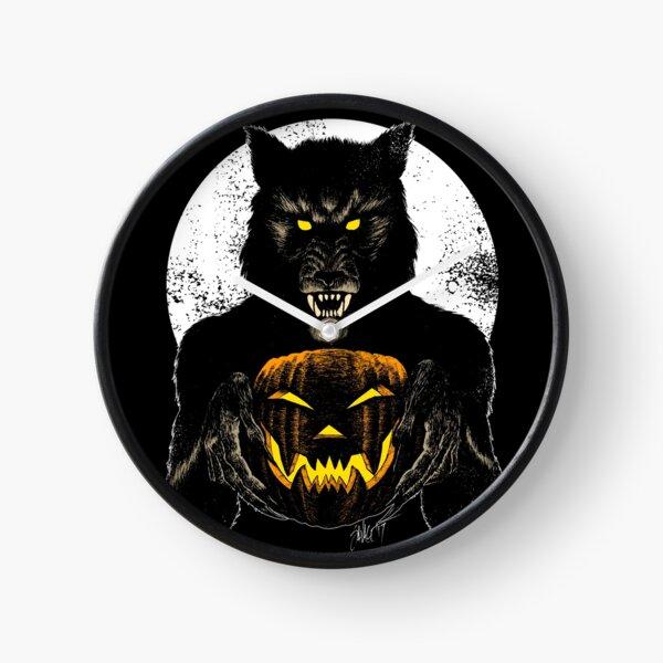 Monster Holiday: Werewolf Clock