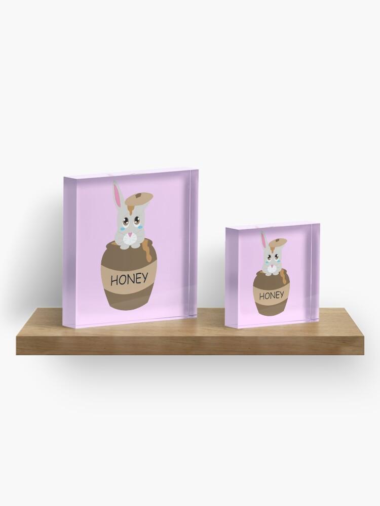 Alternate view of Honey Bunny Acrylic Block