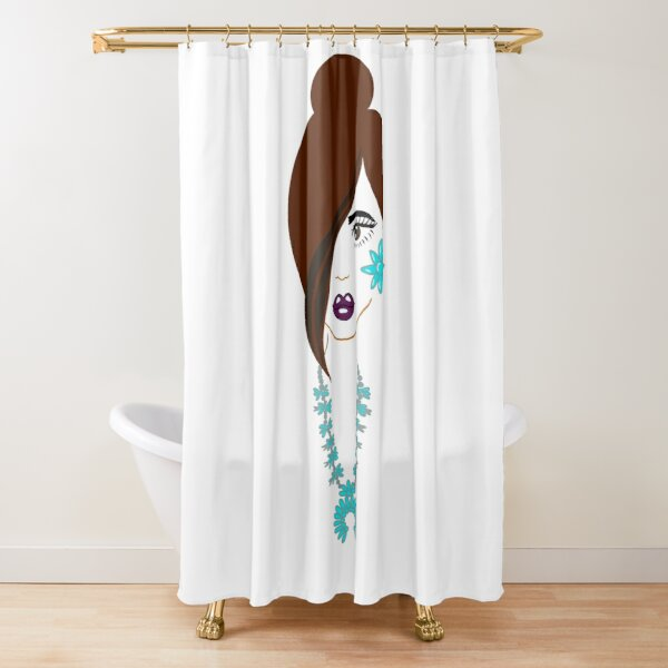 Asdzaa Beauty  Shower Curtain