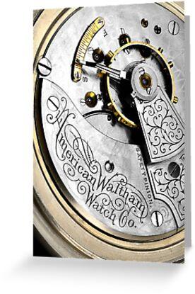American Waltham Pocket Watch by Jim  Hughes