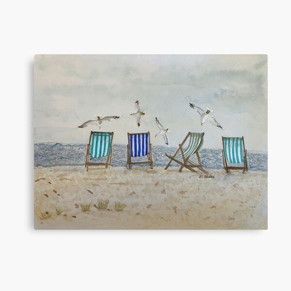 Seaside Tranquility  Canvas Print