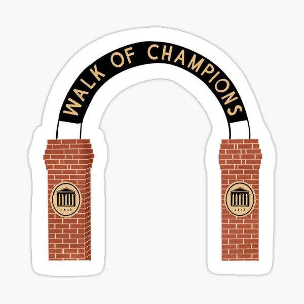 Walk of Champions Sticker