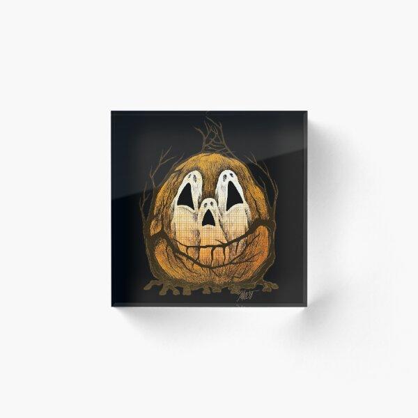 Halloween Spirits Acrylic Block