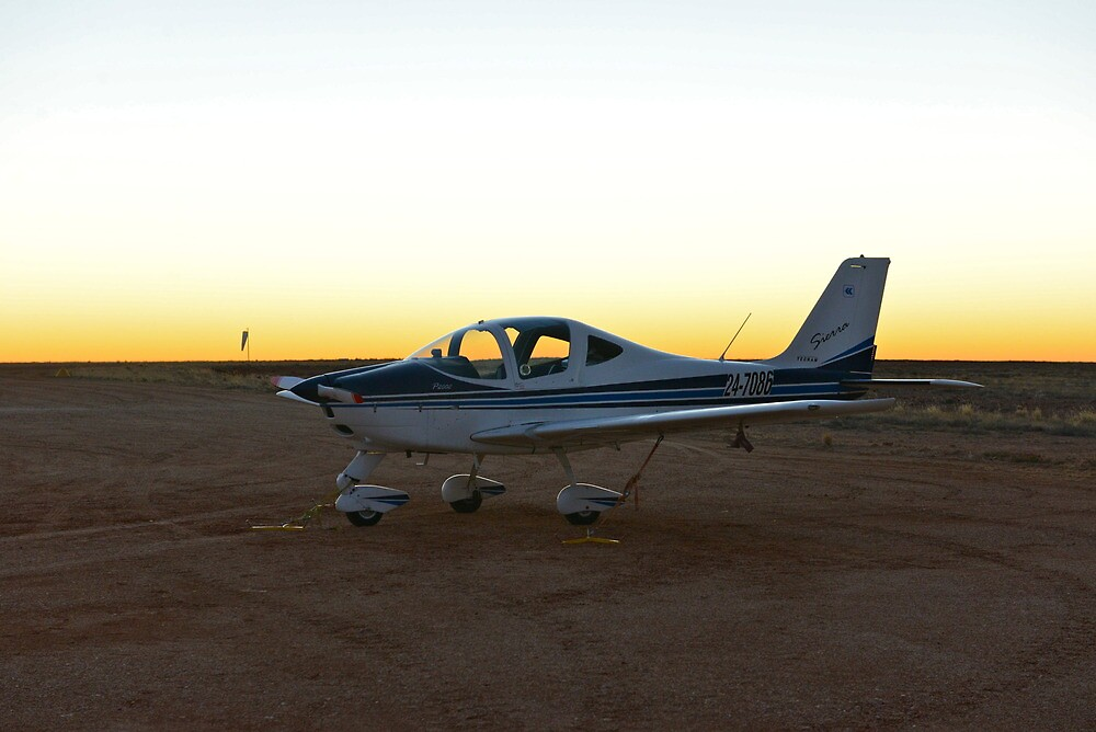 Leaving Innamincka at First Light by styles
