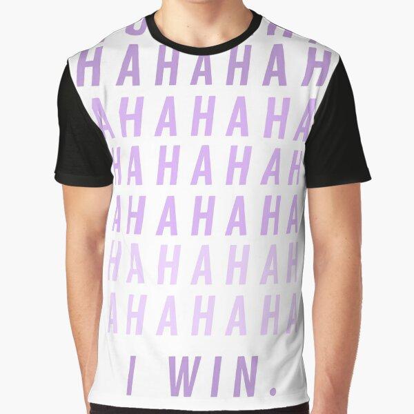 Yzma Cat Muahahaha I Win Graphic T-Shirt