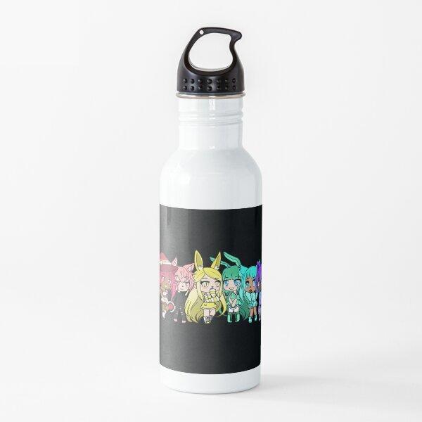 Rainbow Gatcha Animals! Water Bottle