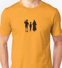 Samurai Champloo Silhouettes  Unisex T-Shirt