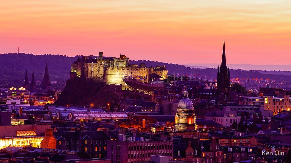 Edinburgh Castle by Ken Qin