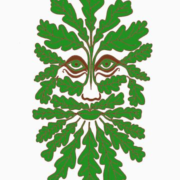 Greenman no background by Eirys