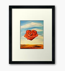 Meditation Rose Framed Print