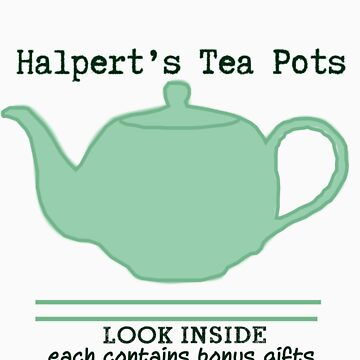 Halpert's Tea Pots by chelsri