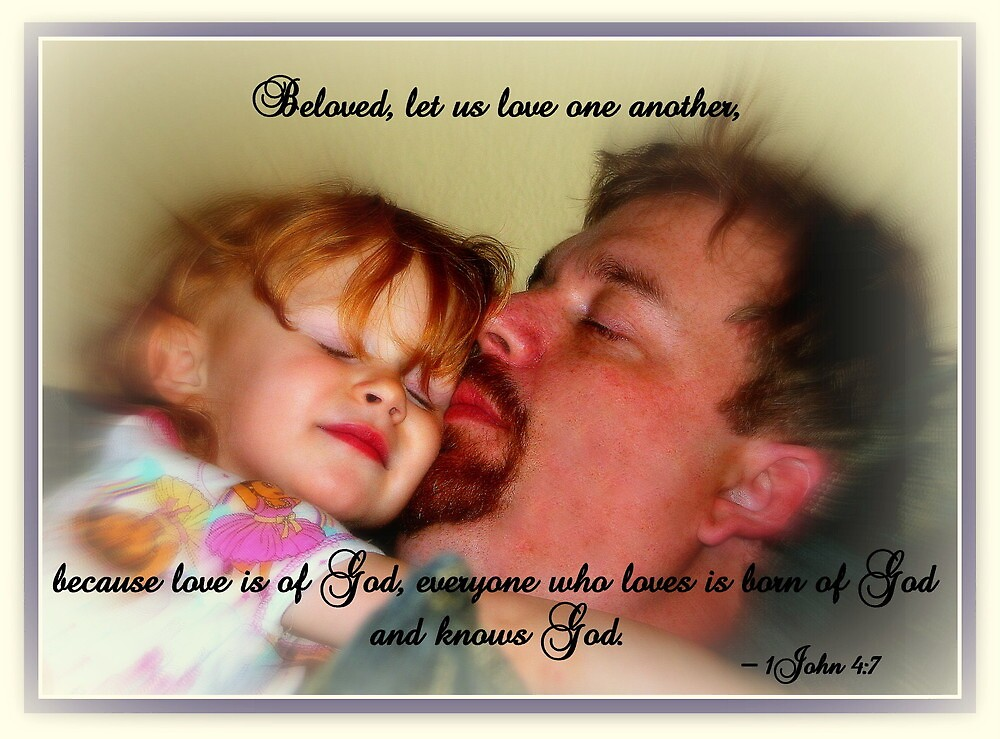 Beloved, Let Us Love One Another by Paula Tohline  Calhoun
