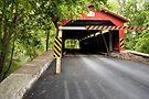 Through The Rishel Covered Bridge Again by Gene Walls