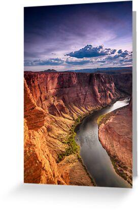 Canyon Wall by Nick  Cardona