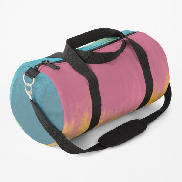 Abstract Pastels Duffle Bag