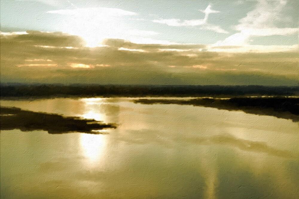 Lake Travis @ Sunset by Jack Walker