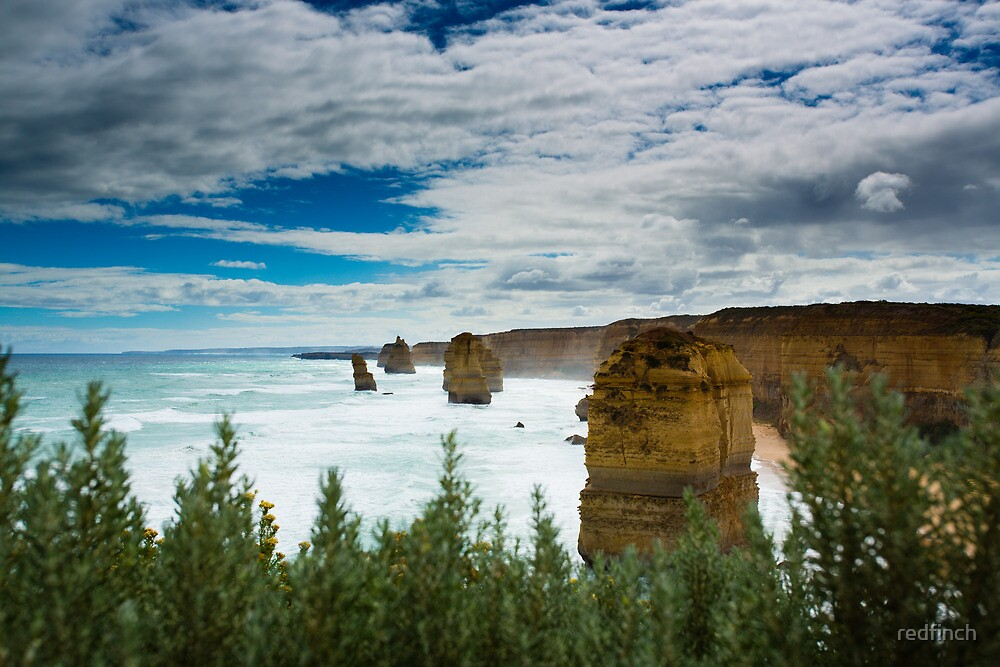 12 apostles  by redfinch