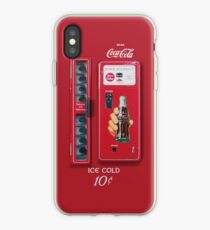 Vintage Coke Machine iPhone-Hülle & Cover