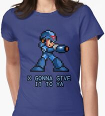 X Gonna Give it to Ya Women's Fitted T-Shirt
