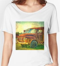 Old Rusty Bedford Truck Women's Relaxed Fit T-Shirt
