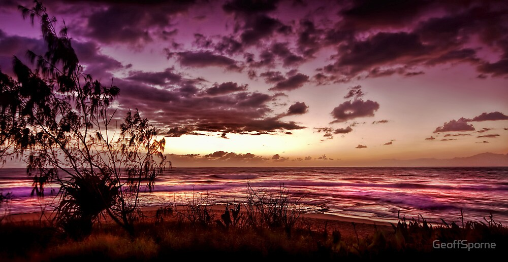 Dark shore by GeoffSporne