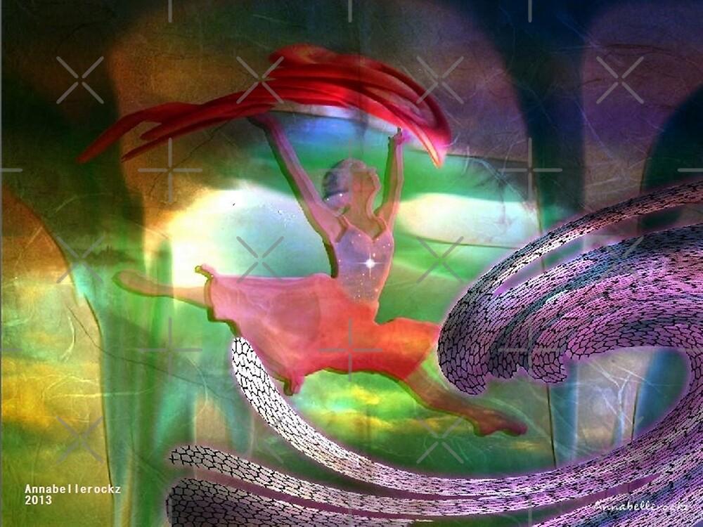 Neptune's dancing goddess by Annabellerockz