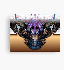 Tut63#5: Heavy Metal Butterfly (G1377) Canvas Print