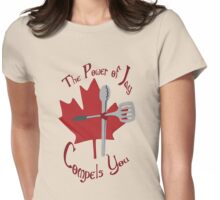 The Power of Jay Womens Fitted T-Shirt