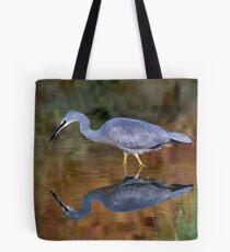 White Faced Heron Tote Bag