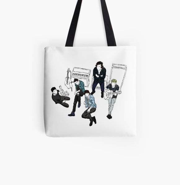 One Direction celebrate love in all kinds and firms tote bag