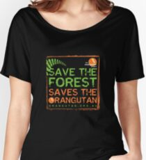 Save the Forest Women's Relaxed Fit T-Shirt
