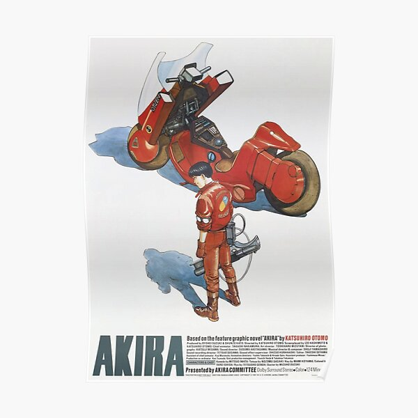 Akira Movie Poster Alternative Poster