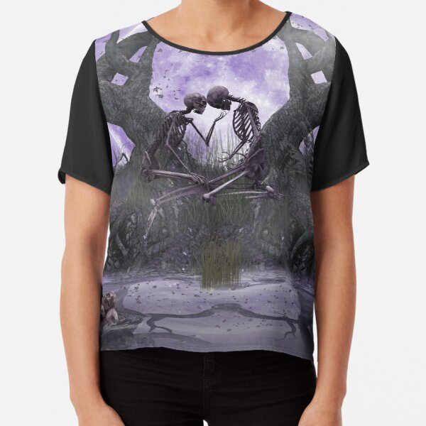 To the moon and back Chiffon Top