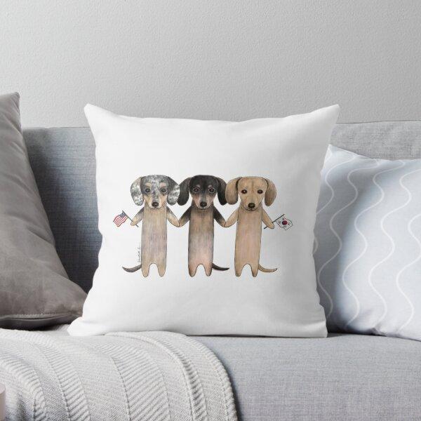 R3 Throw Pillow