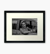 Jessica White Framed Print