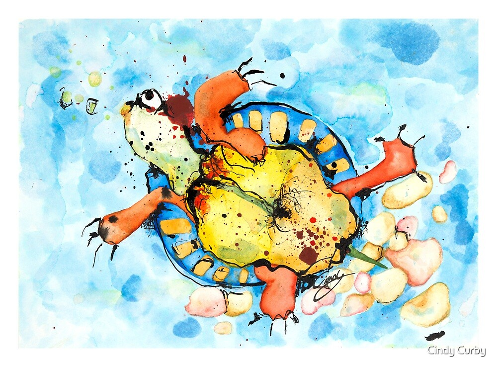 Miss Turtle by Cindy Curby
